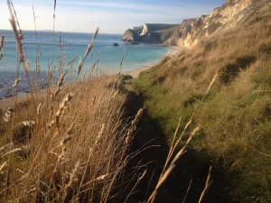 Durdle Door and its beautiful beaches are perfect for walking to from The Pink House Lulworth