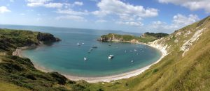 Lulworth Cove near The Pink House Lulworth holiday home accommodation