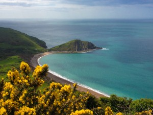 Worbarrow Bay as seen on a walk from The Pink house Lulworth