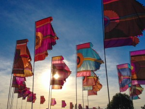 Camp Bestival is within easy walking distance of The Pink House Lulworth