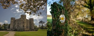 within easy walking distance of the Pink House Lulworth Castle is open year round to the public