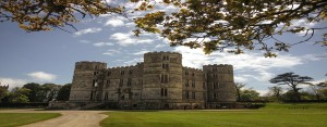 within easy walking distance of the Pink House Lulworth Castle is open year round to the public and used as a luxury venue for wedding and events