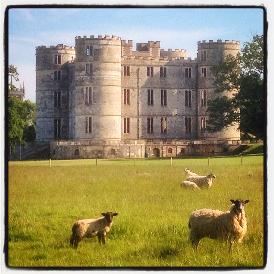 Lulworth Castle is within easy walking distance of The Pink House Lulworth