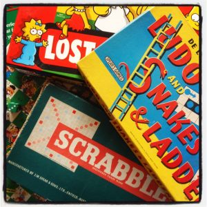 fun and board games at The Pink House Lulworth