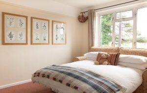 The Pink House Lulworth sofa bedroom