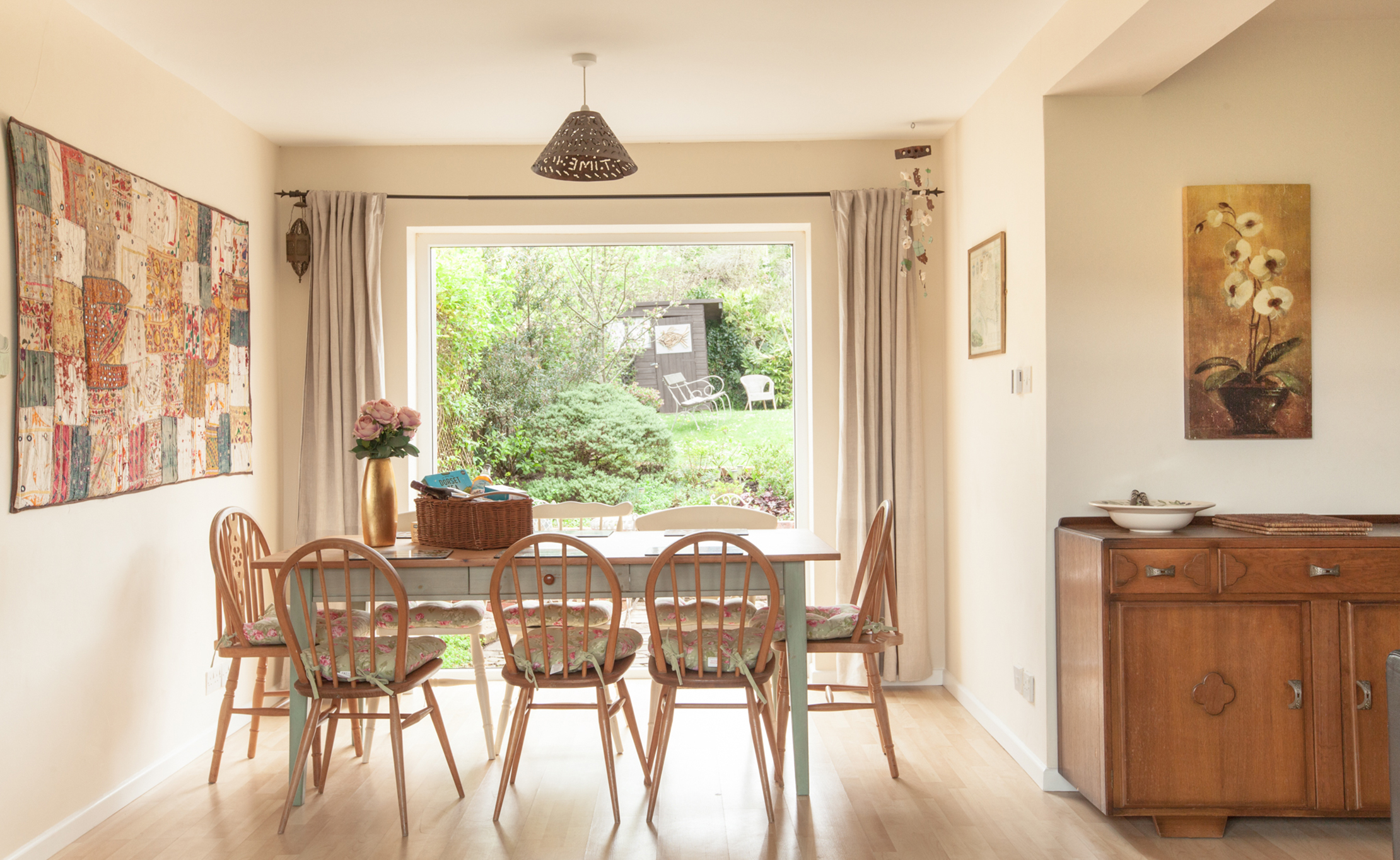 self catering holiday home at The Pink House Lulworth Dorset