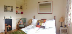 self catering holiday cottage sleeps 8 at The Pink House Lulworth in Dorset