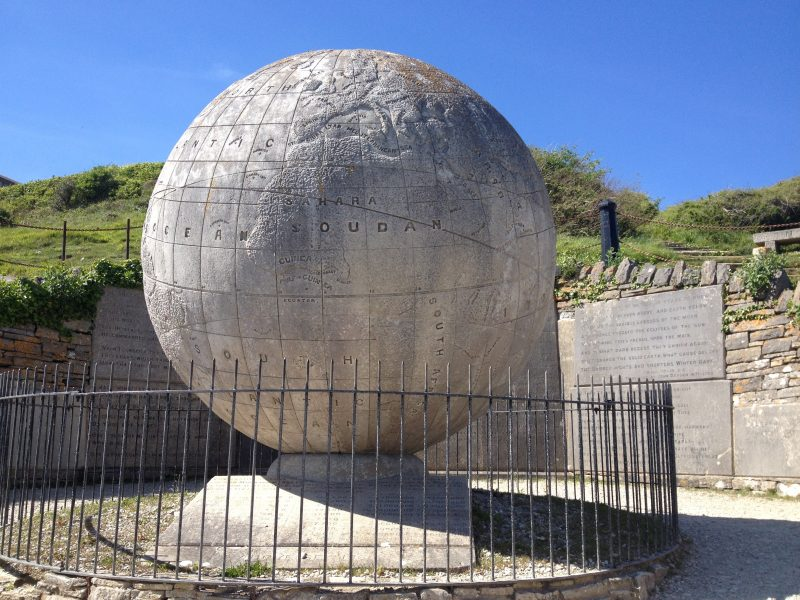 The Great Globe at Durlston Park ©ThePinkHouseLulworth