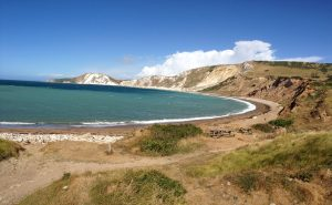 Worbarrow Bay on The Jurassic Coast of Dorset